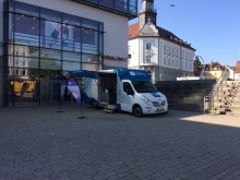 Beratungsmobil der Unabhängigen Patientenberatung kommt am 11. Februar nach Kempten (Allgäu).