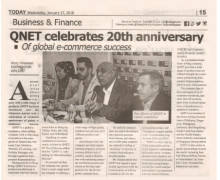 QNET celebrate 20th anniverssary