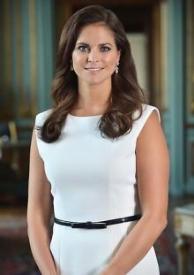 Prinsessan Madeleine vid invigningen av EM i ridsport