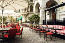 The Terrace at the Grand Hôtel welcomes the summer season