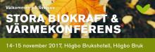 Stora Biokraft- och Värmekonferensen i Högbo Bruk