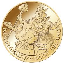 Pippi Långstrumps 70-års kalas firas med guldmynt och minnesmedaljer