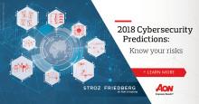 Stora företagsövergripande förändringar för att möta cyberrisker är att vänta för 2018