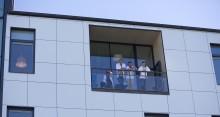 Bostadsministern besöker Chalmers när HSB Living Lab fyller ett år