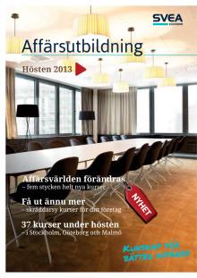 Affärsutbildning - Kurskatalog Hösten 2013