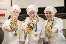 Lina Andersson från Ånge – Vinnare i SM Unga Bagare 2016