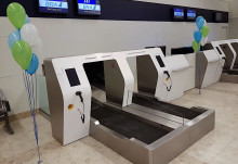 Debut of modern bag drop system at Visby Airport – automated solutions for every step of the passenger's journey