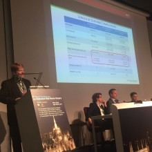 Data on the use of TIGR® Matrix in 63 patients with complex abdominal wall reconstruction (AWR) presented at the 1st World Conference on Abdominal Wall Hernia Surgery