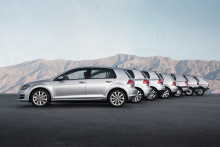 Volkswagen Golf fyller 45 år