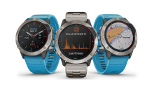 Garmin® tuo aurinkolatauksen uuteen, vesillä liikkujille suunnattuun quatix® 6 -marine-GPS-älykellomallistoon
