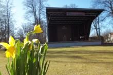 Inbjudan till pressträff i stadsträdgården i Lidköping