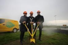 DHL Express bygger ny logistikkterminal i Stavanger.