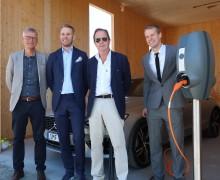 Slättö Förvaltning och Vattenfall inleder samarbete – hundratals nya laddplatser