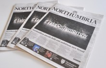 'Take On Tomorrow' with the new edition of Northumbria University News