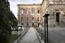 Universitetshuset i Uppsala färdigrestaurerat