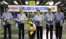 Yamaha Motor Produces One-Millionth Motorcycle in the Philippines - Achieved in Ninth Year of Full-Scale Operation -