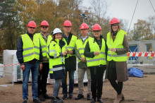 Full fart för hyresrätter med fokus på hållbarhet i Varberg
