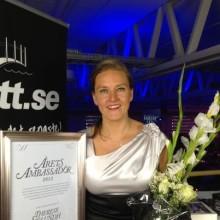 Science Parks vd utsedd till Årets Ambassadör i Jönköping