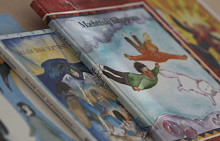 Samiska böcker uppmärksammas på Världsbokdagen den 23 april