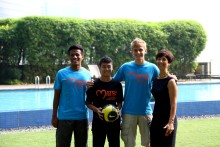 Young La Liga Football Player Becomes Match For Life Ambassador in Singapore