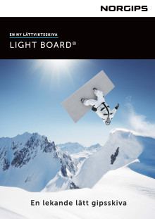 Broschyr Norgips Light Board
