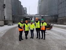 Maria Malmer Stenergard (M) besökte Lantmännen Agroetanol