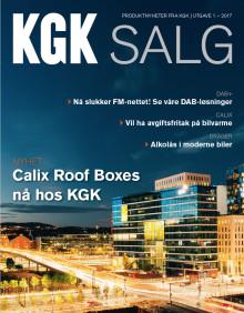 Ny utgave av magasinet KGK Salg