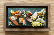 CloseUp client AVEQIA London serves up a delicious Swedish Smörgåsbord in the heart of the City
