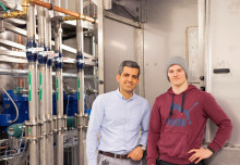 Unik testrigg för kvalitetsstål invigs på Högskolan i Gävle