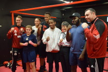 Commissioner visits Lewisham boxing club to speak to young people about knife crime