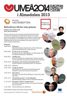 Umeå2014 och Region Västerbotten