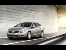 Världspremiär för Volvo V60 Bi-Fuel