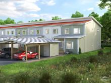 Säljstart av sju moderna radhus i Åbrinken, Söderköping