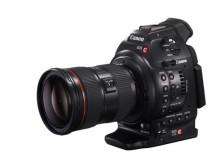 Professionell kvalitet och flexibilitet för filmare – Canon presenterar nya EOS C100