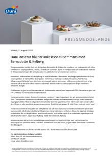 Duni lanserar hållbar kollektion tillsammans med Bernadotte & Kylberg