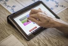 Äldre kan handla mat med app