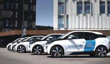 BMW og E.ON får UNICEF Danmark på grønne hjul