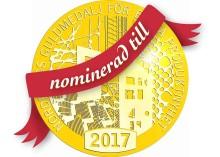 Silent Wall från Saint-Gobain nominerad till Nordbyggs Guldmedalj 2017!