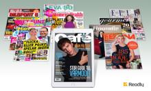 Readly bidrar med allt större del av tidskrifternas upplagor
