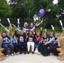 ​Survivors take a Step Out for Stroke in St Helens