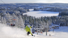 Weekend-skiløb kun et sund væk