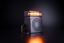 Backvarnare med inbyggt blixtljus för en säkrare arbetsmiljö