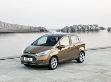 Tyylikäs uusi Ford B-MAX avaa ovet käytännölliseen kaupunkiajoon