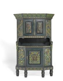 Musée d'Orsay køber norsk Kinsarvik-skab