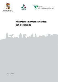 Naturbetesmarkernas värden och bevararande