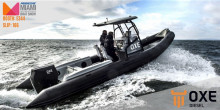 Laborde Products Inc. displays the OXE Diesel at Miami International Boat Show 2020