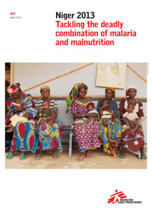 Niger - Tackling the deadly combination of malaria and malnutrition