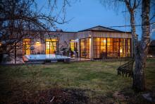 Nybyggd villa med pool i Danderyd mest klickad i landet