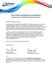 Einladung zu IDS-Standgesprächen 2015