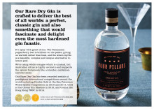 Four Pillars Rare Dry Tasting Notes